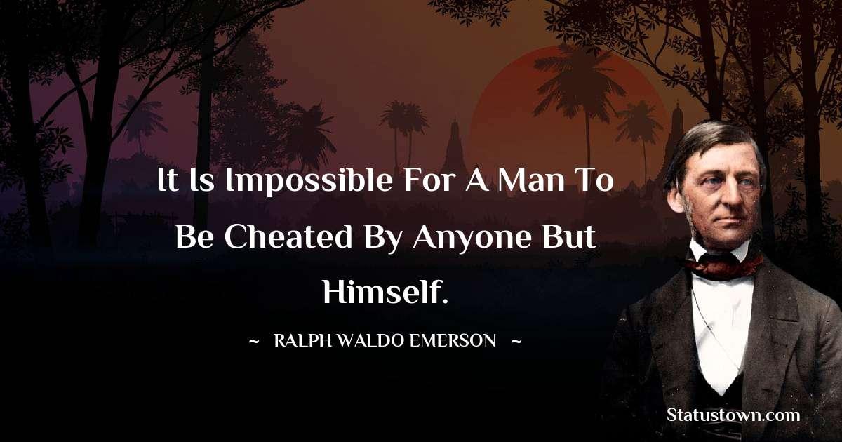 Ralph Waldo Emerson Unique Quotes