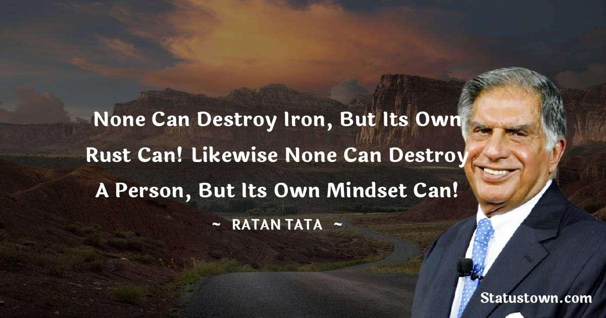 Ratan Tata Short Quotes