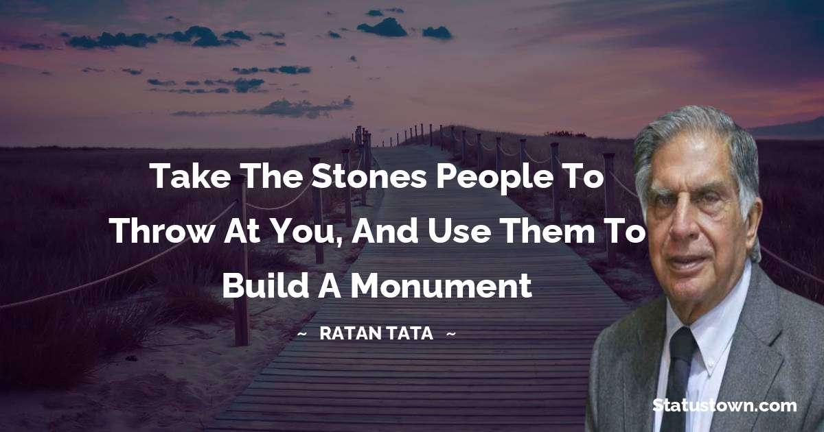 Ratan Tata Thoughts