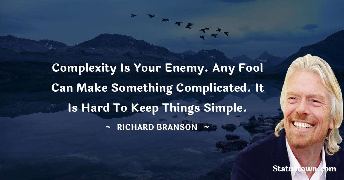 Richard Branson Short Quotes