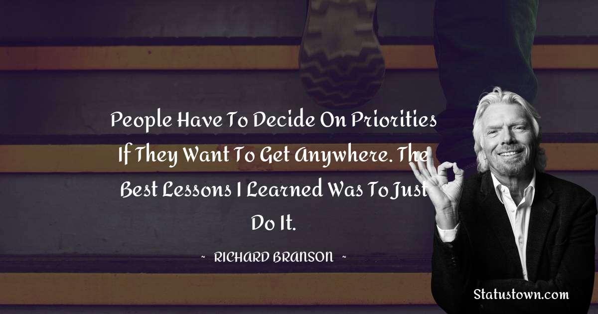 Richard Branson Motivational Quotes