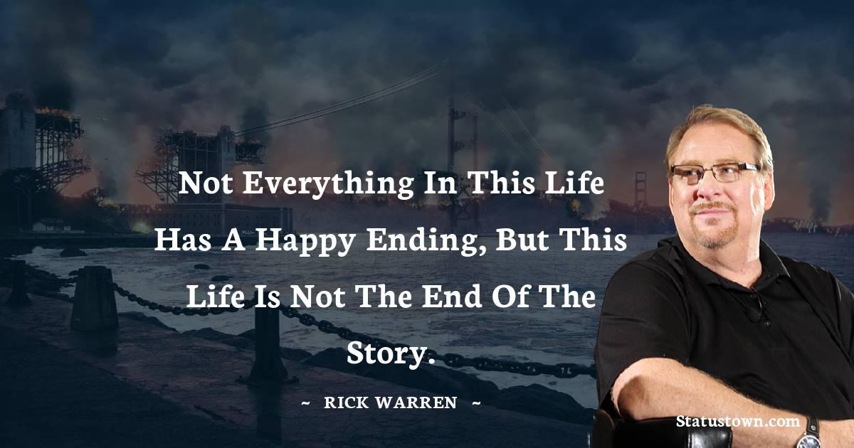 Rick Warren Thoughts