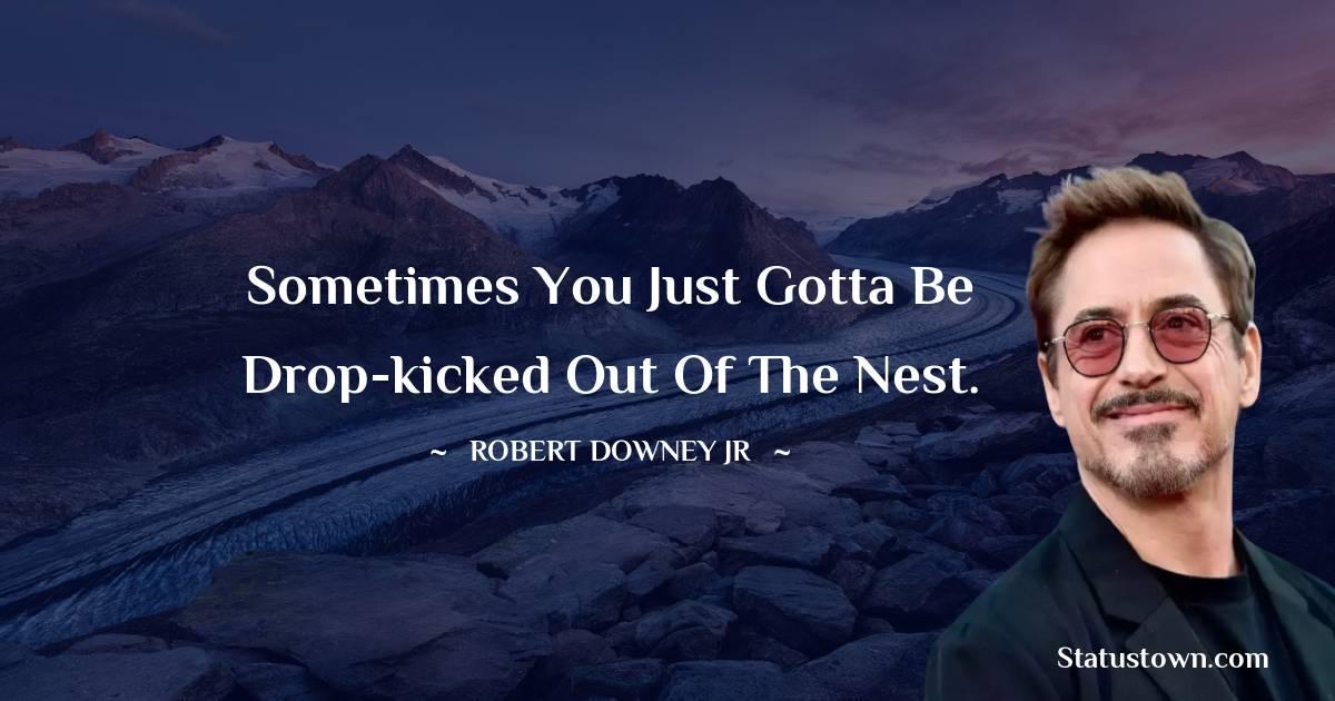 Robert Downey Jr Status