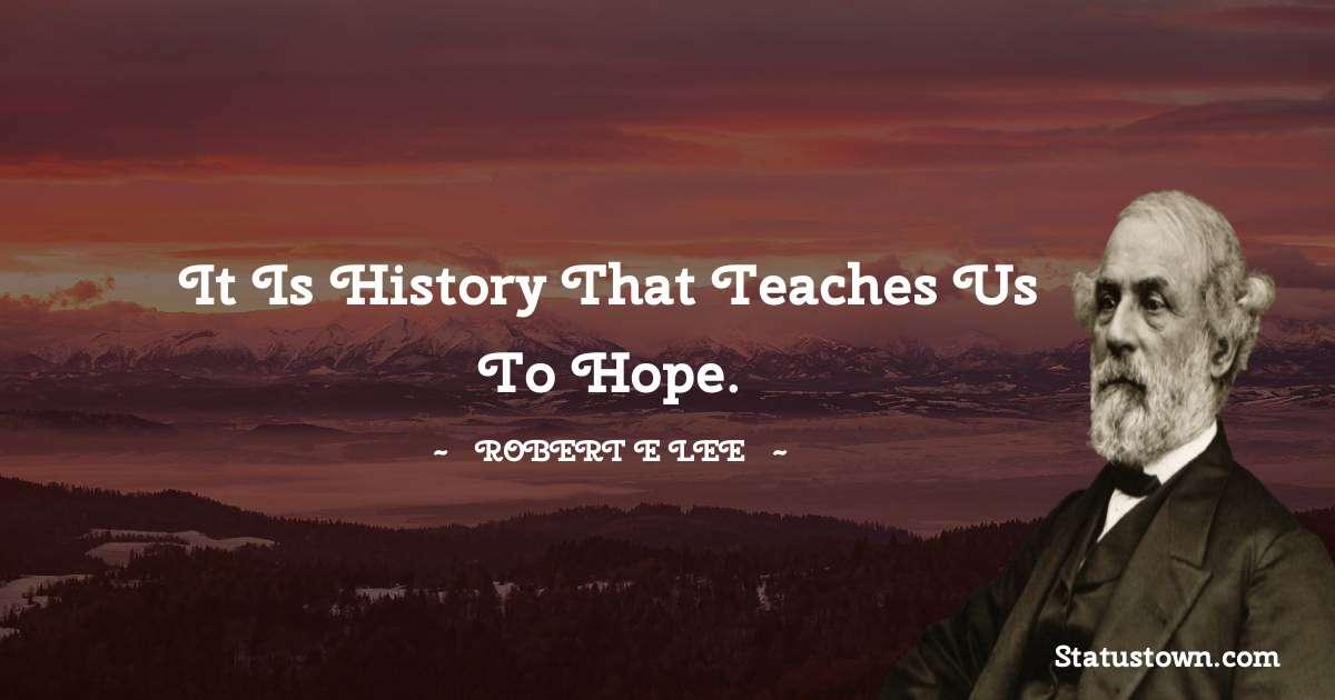 Robert E. Lee Thoughts