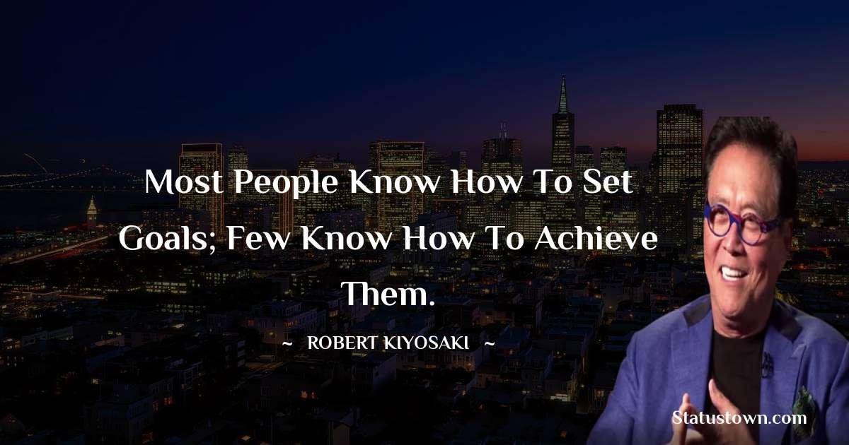 Robert Kiyosaki Positive Thoughts