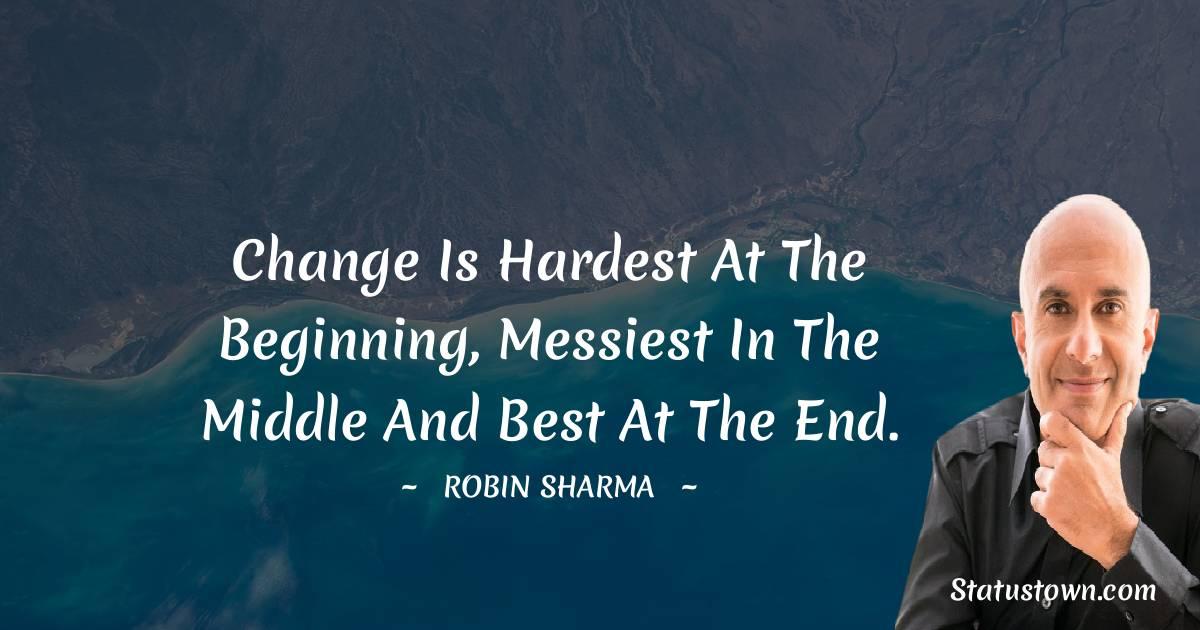 Robin Sharma Positive Thoughts