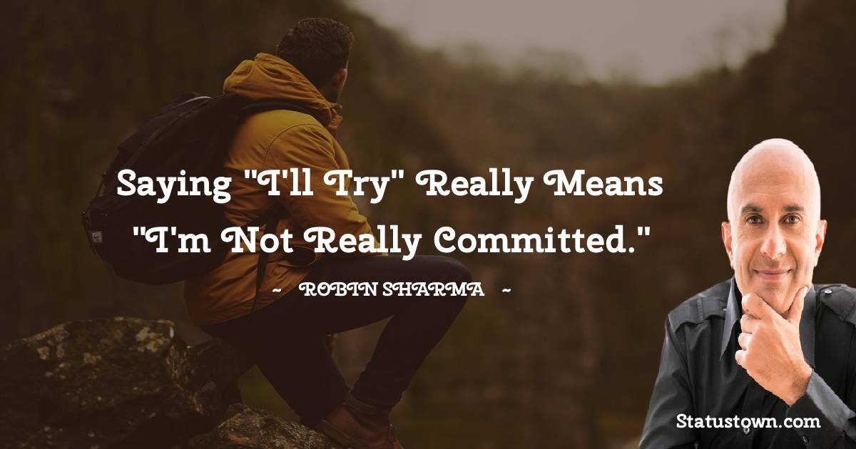 Robin Sharma Motivational Quotes