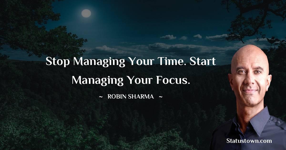 Robin Sharma Thoughts