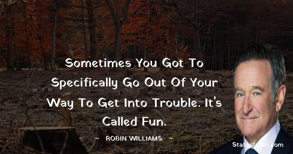 Robin Williams Status