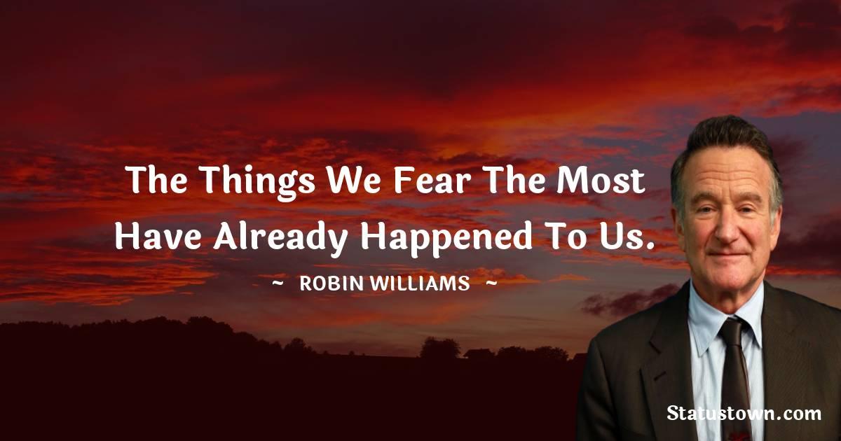 Robin Williams Short Quotes