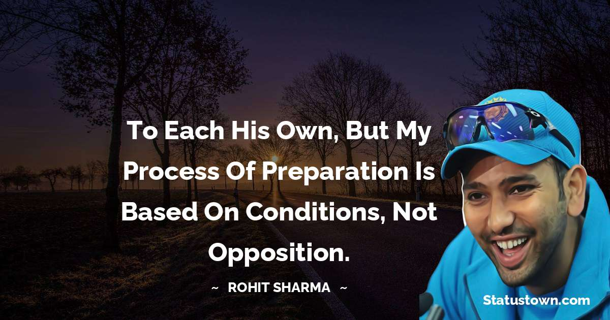Rohit Sharma quotes for success