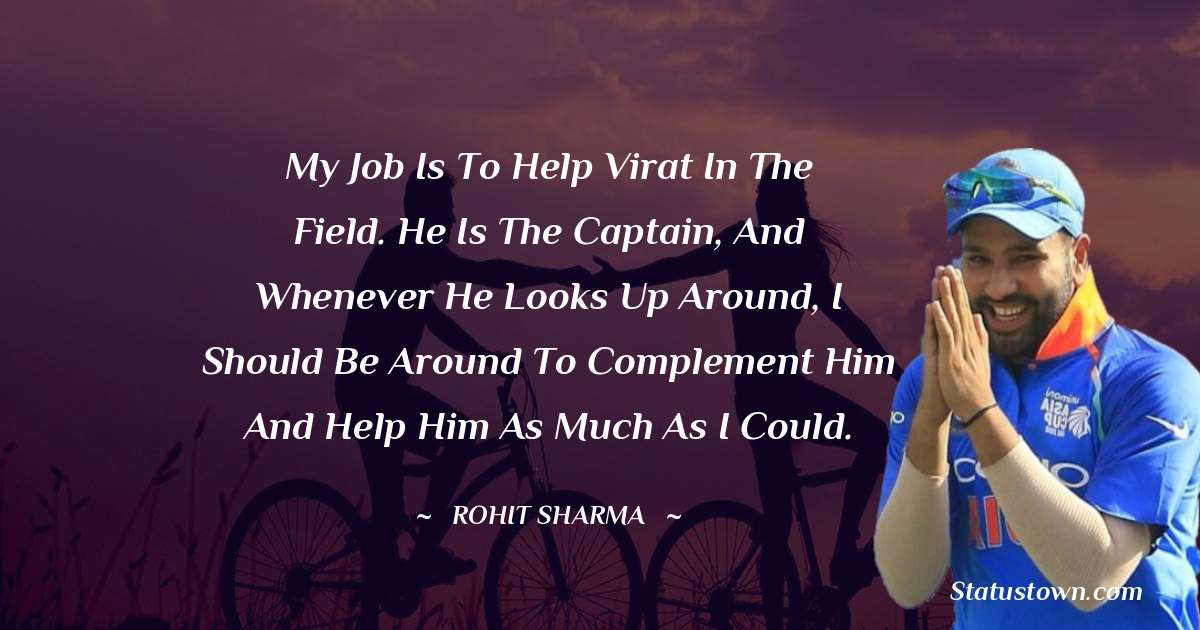 Rohit Sharma about life