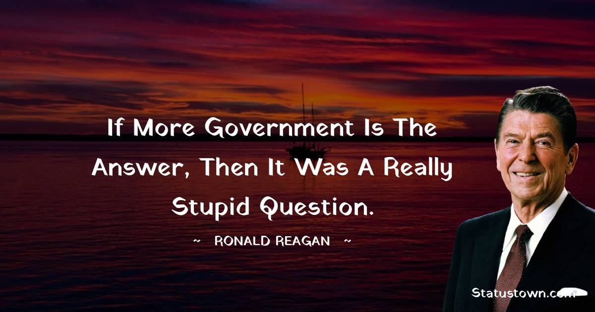 Ronald Reagan Positive Thoughts