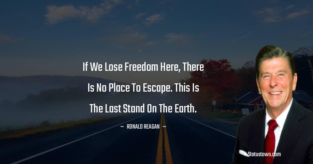 Ronald Reagan Motivational Quotes