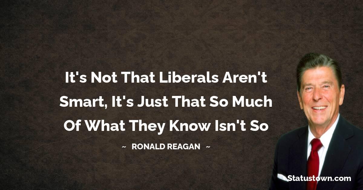 Ronald Reagan Positive Quotes