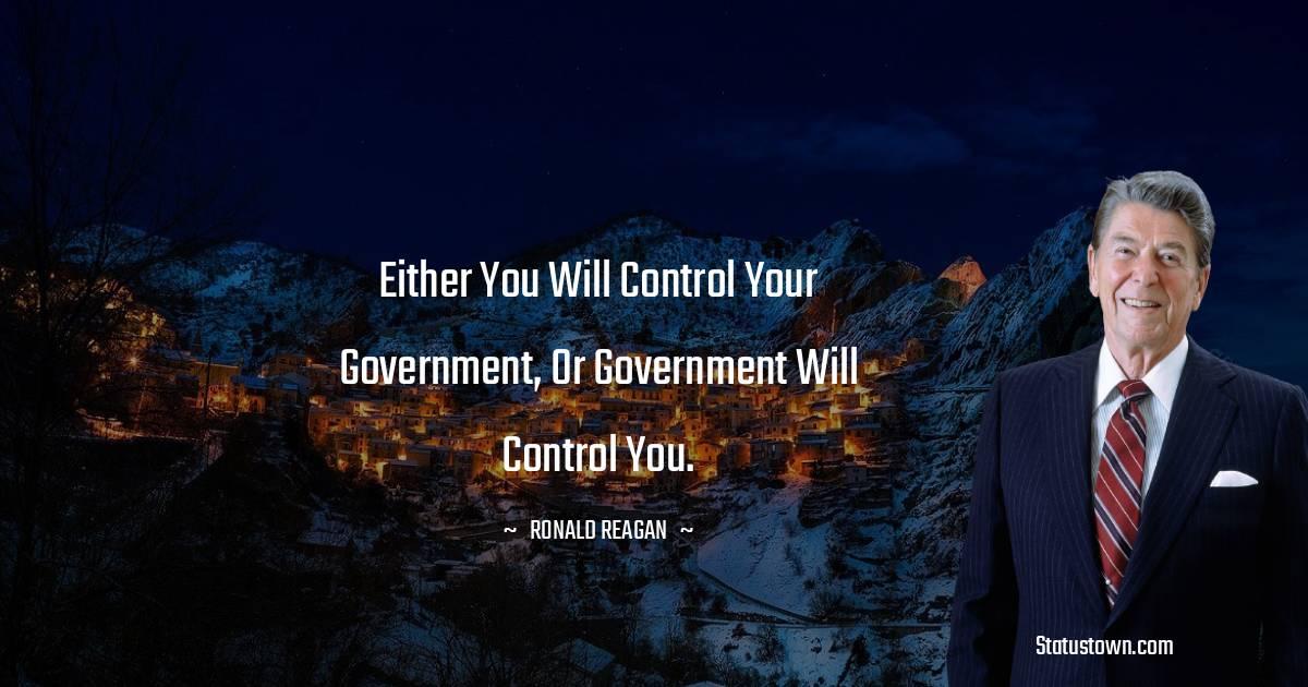 Ronald Reagan Thoughts