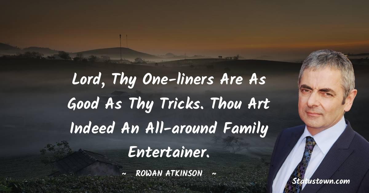 Rowan Atkinson Short Quotes