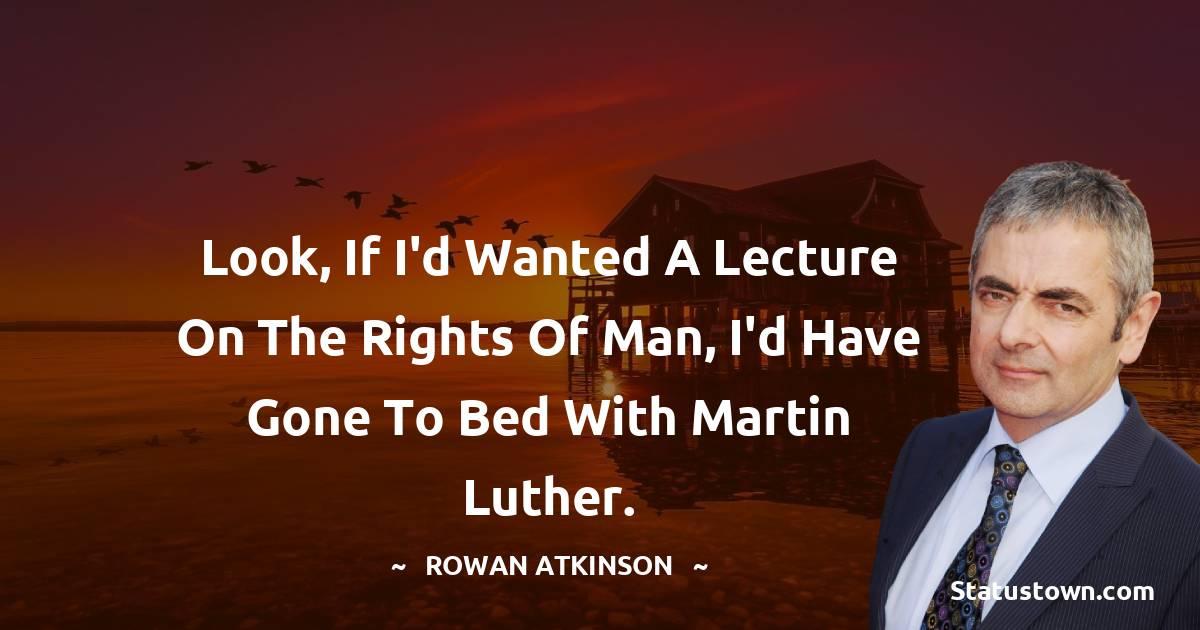 Rowan Atkinson Motivational Quotes