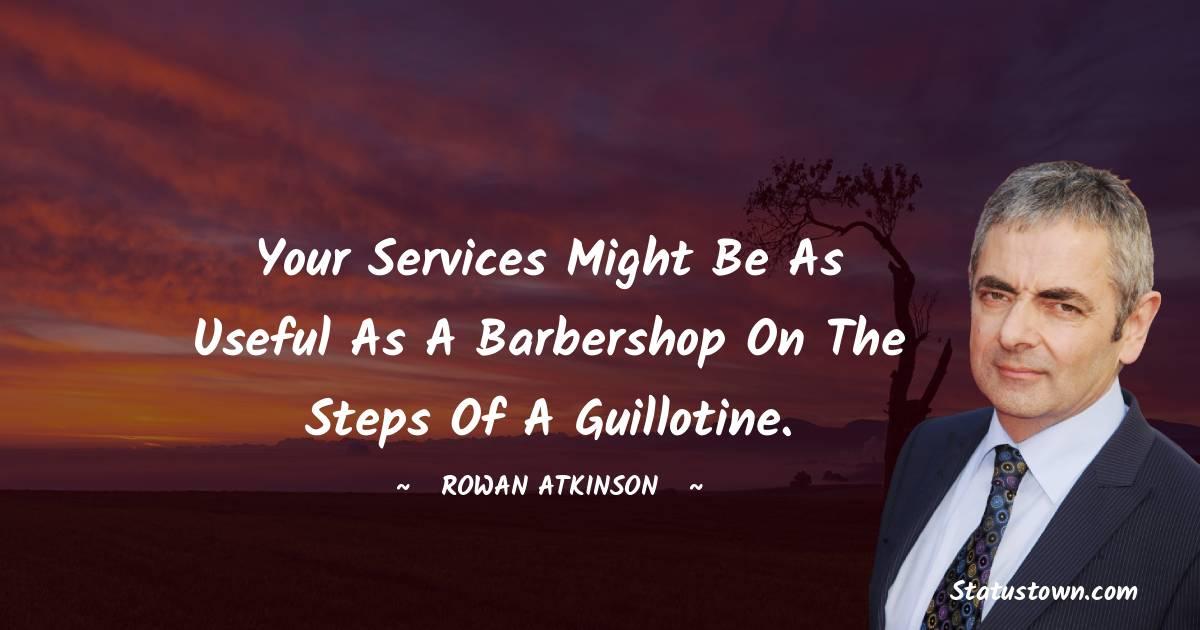 Rowan Atkinson Quotes on Failure