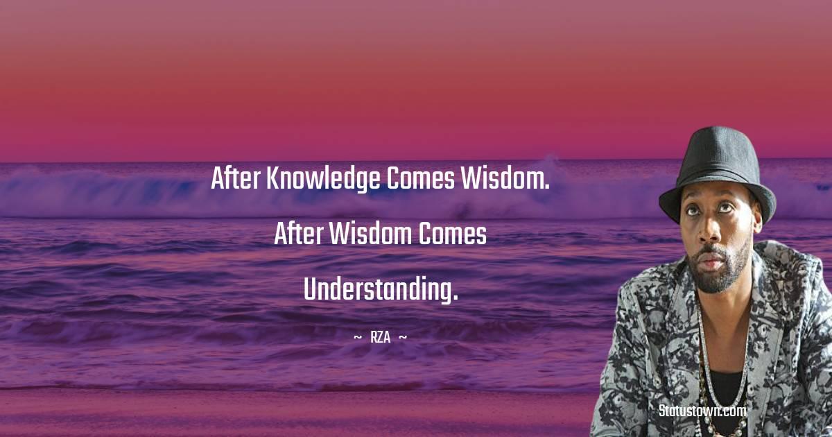 RZA  Unique Quotes