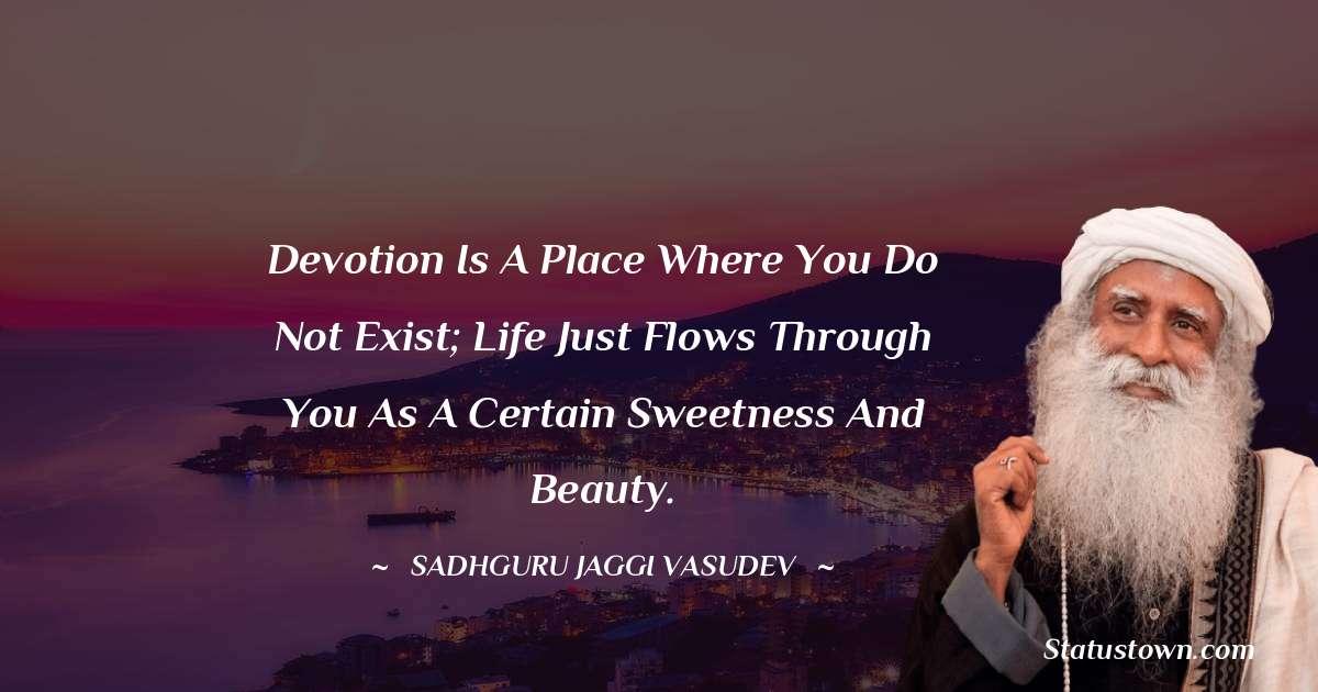 Sadhguru Jaggi Vasudev Thoughts