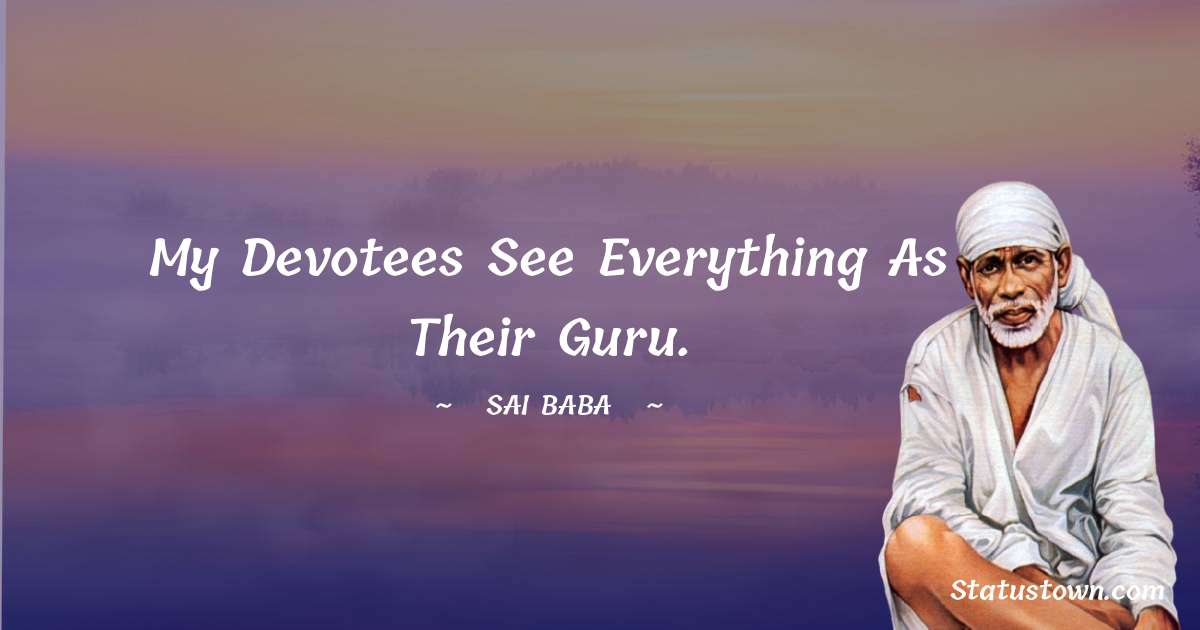 Sai Baba Status