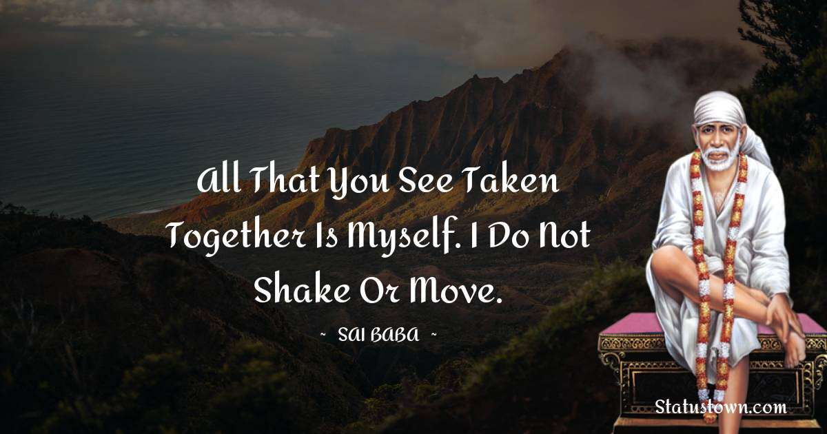 Sai Baba Positive Thoughts
