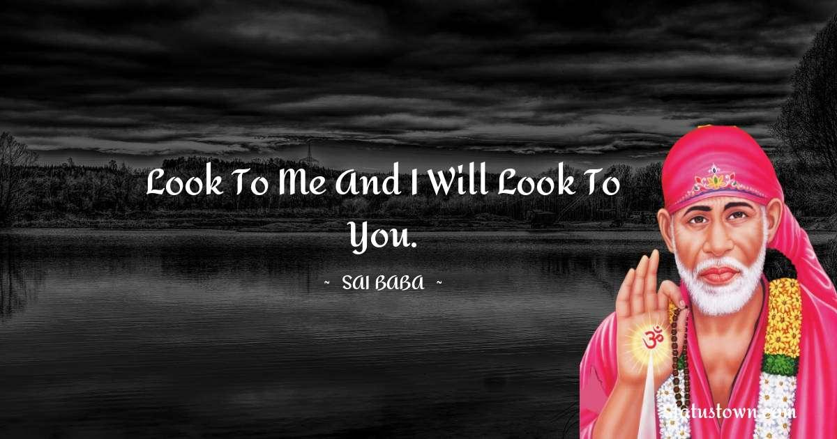Sai Baba Short Quotes