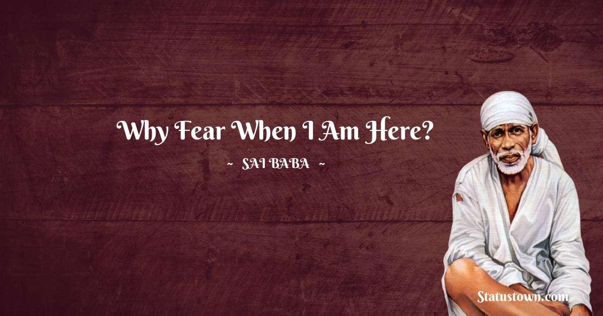 Sai Baba Motivational Quotes