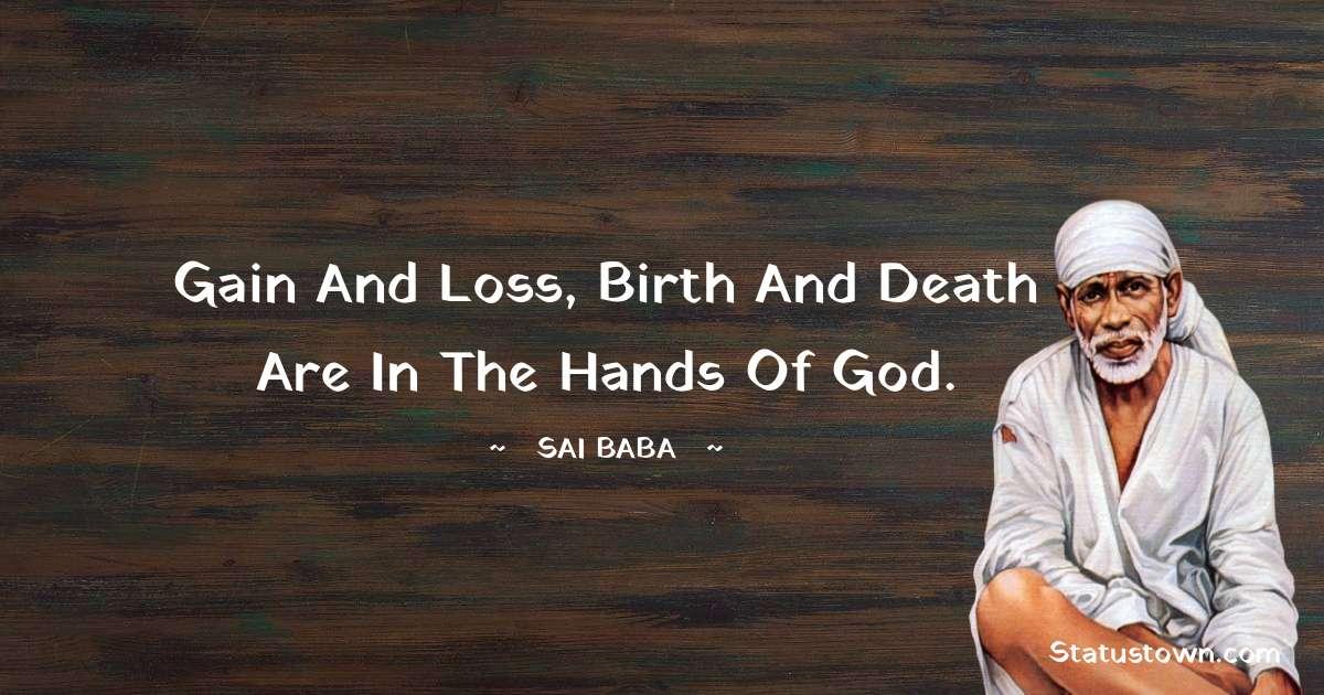 Sai Baba Thoughts