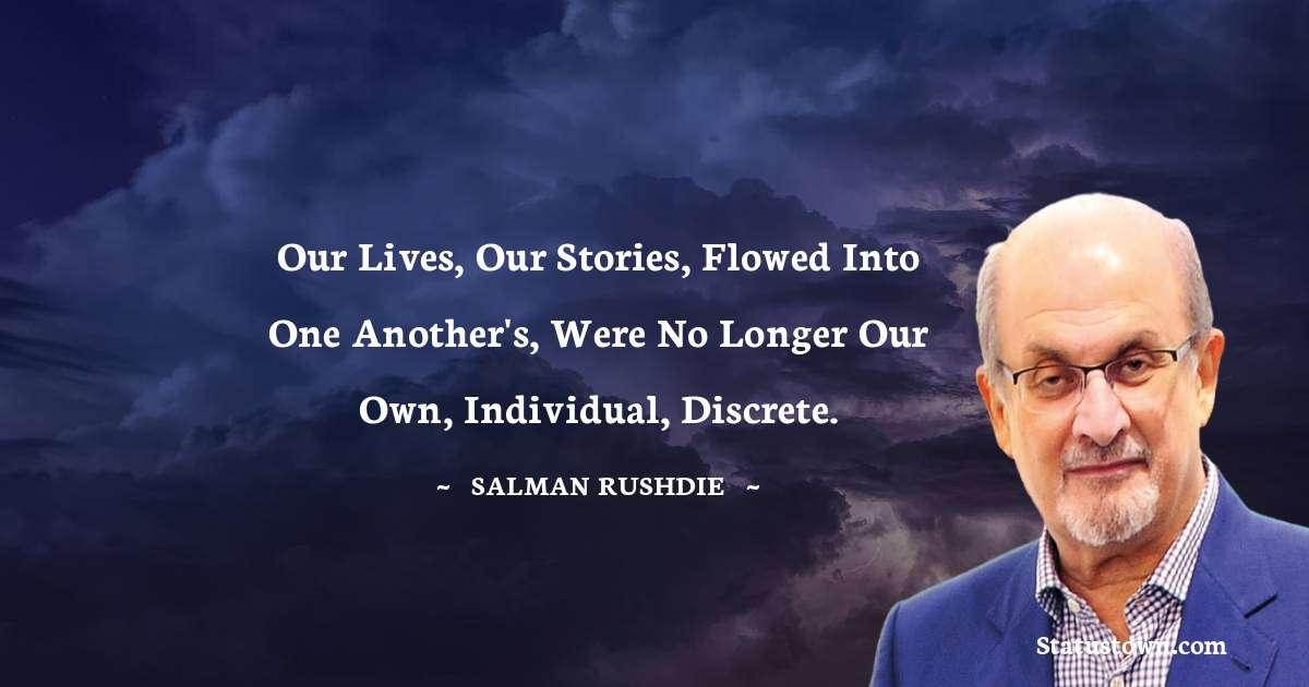 Salman Rushdie Quotes images