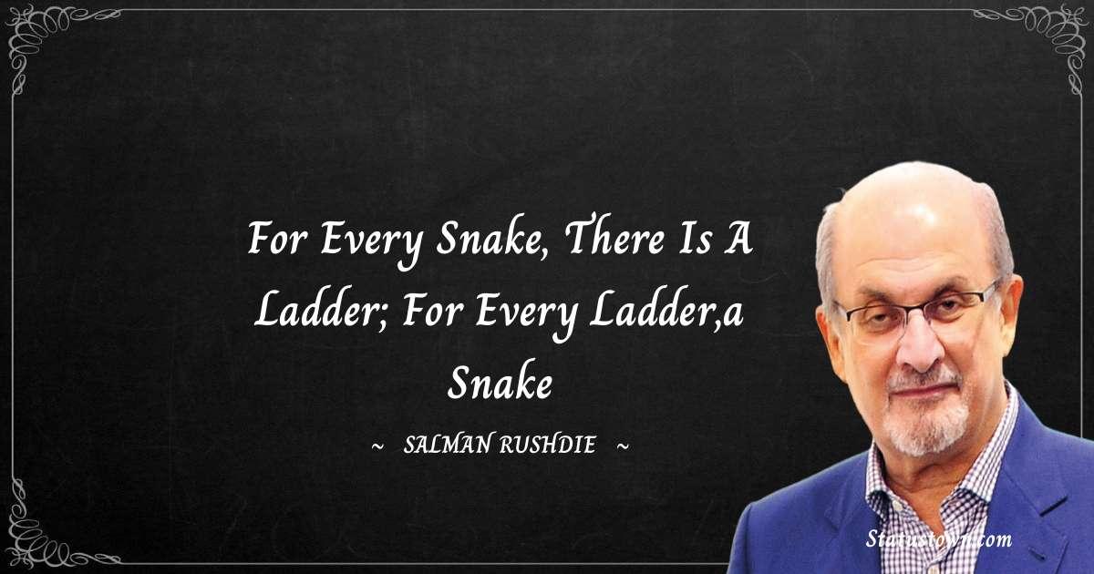 Salman Rushdie Short Quotes