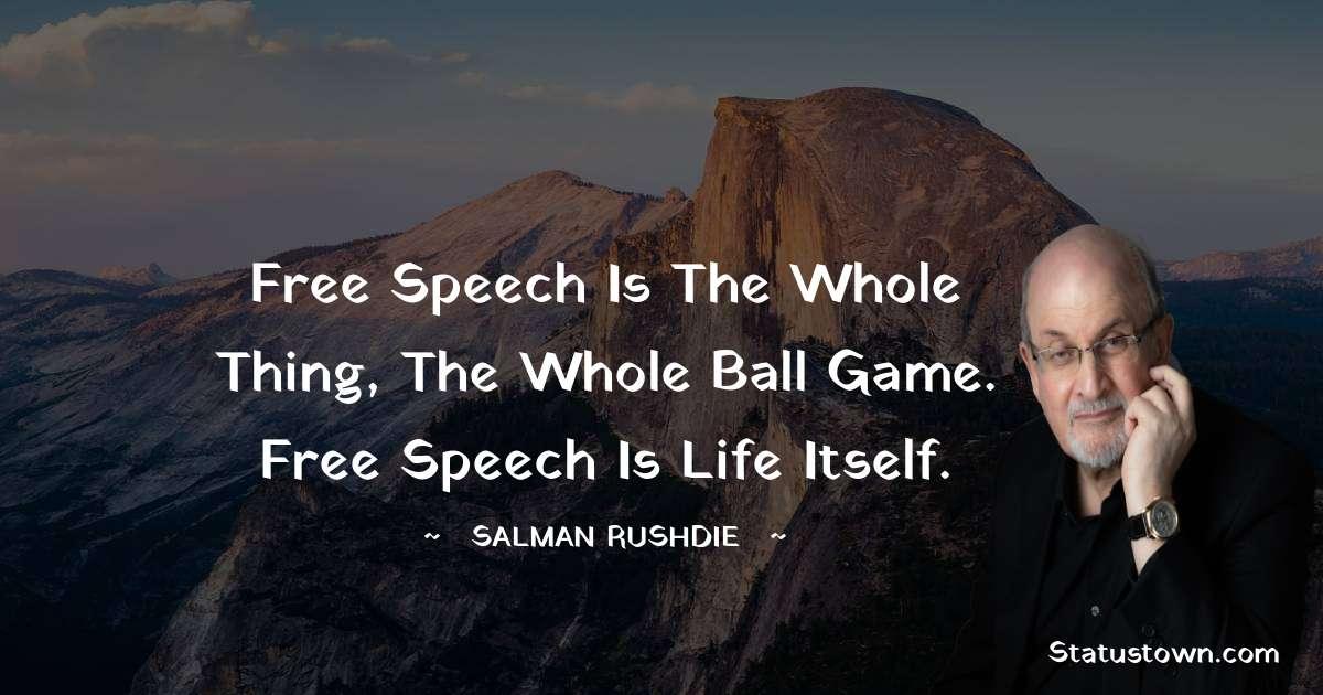 Salman Rushdie Inspirational Quotes