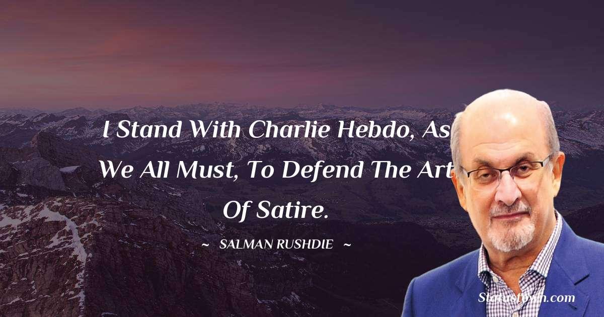 Salman Rushdie Thoughts