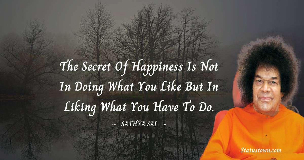 Sathya Sai Baba Quotes images