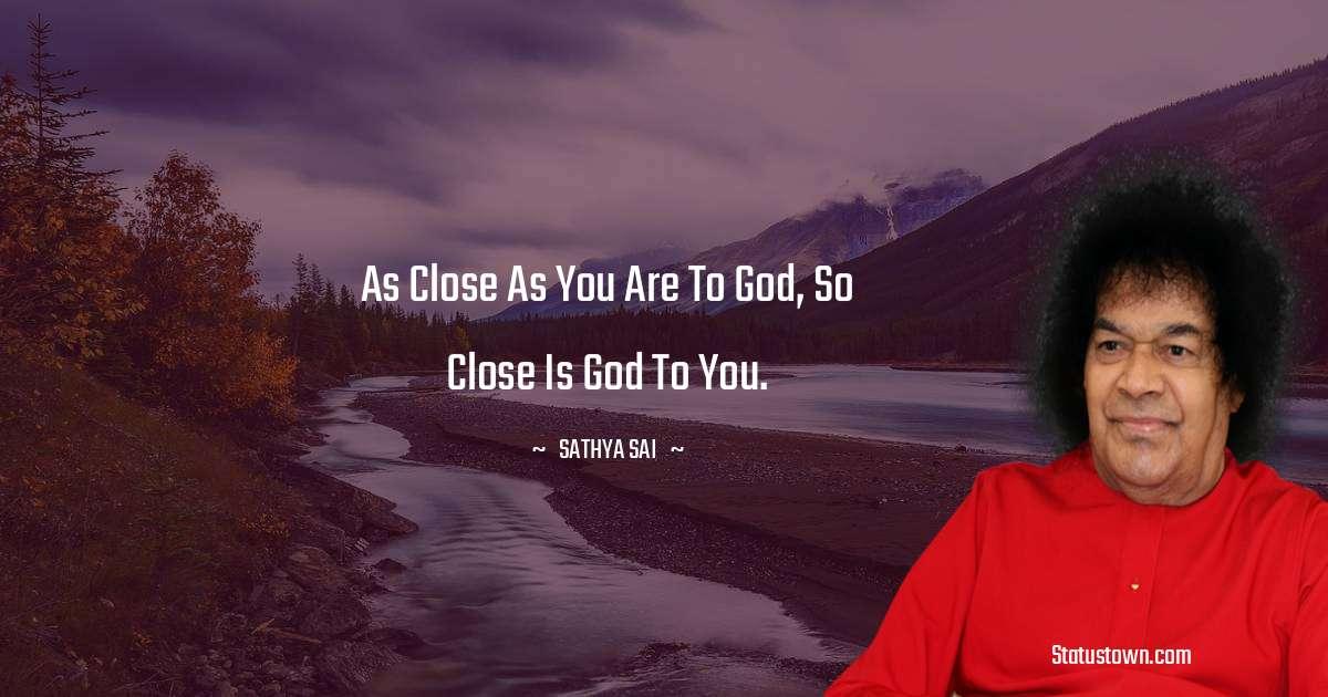 Sathya Sai Baba Positive Thoughts