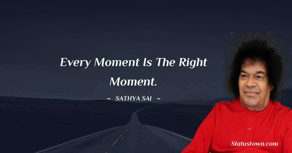 Sathya Sai Baba Inspirational Quotes