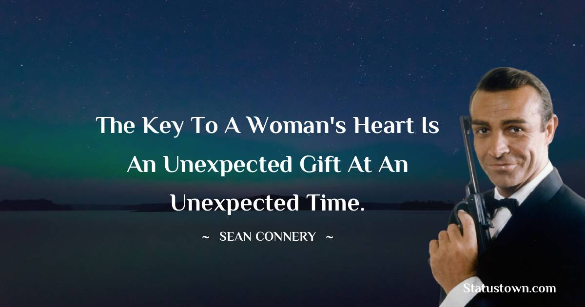 Sean Connery Short Quotes