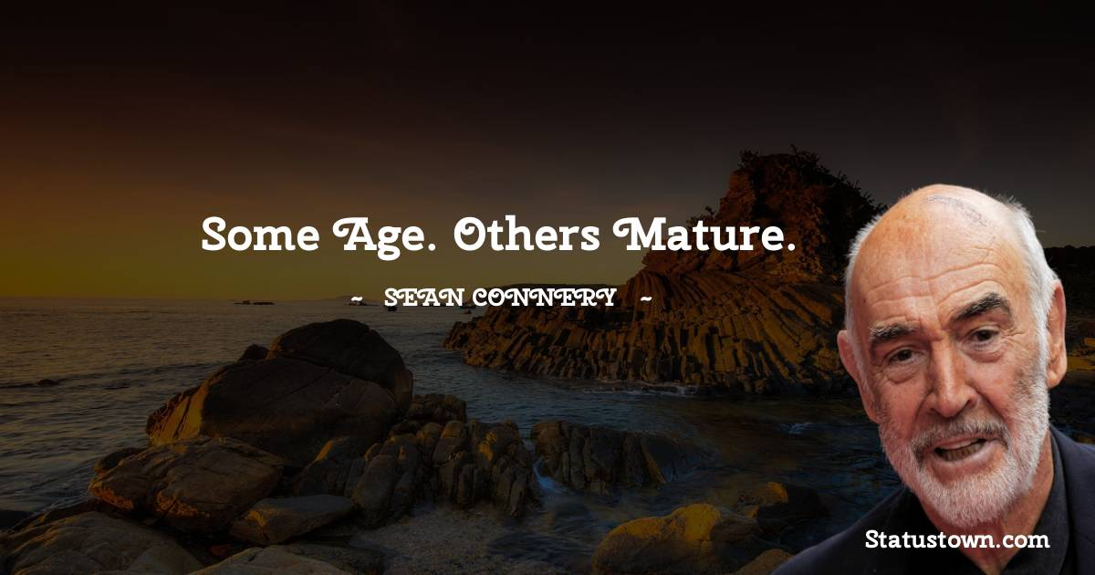Sean Connery Unique Quotes