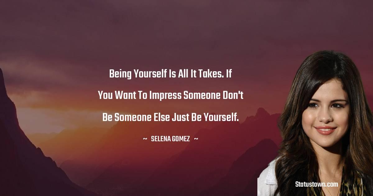 Selena Gomez Thoughts