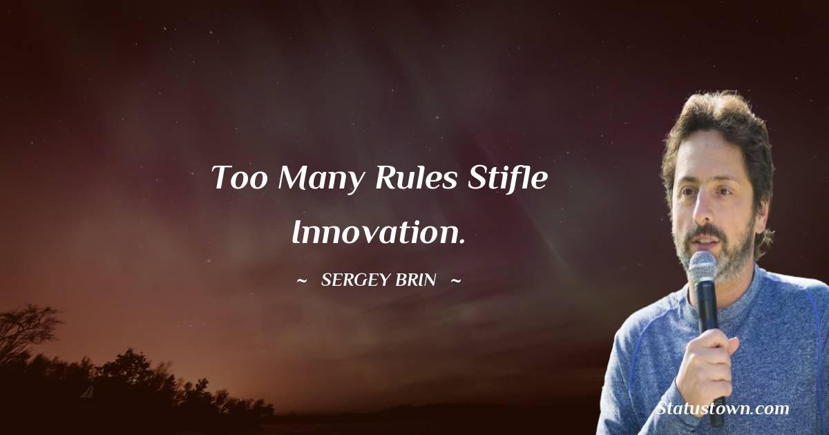 Sergey Brin Thoughts