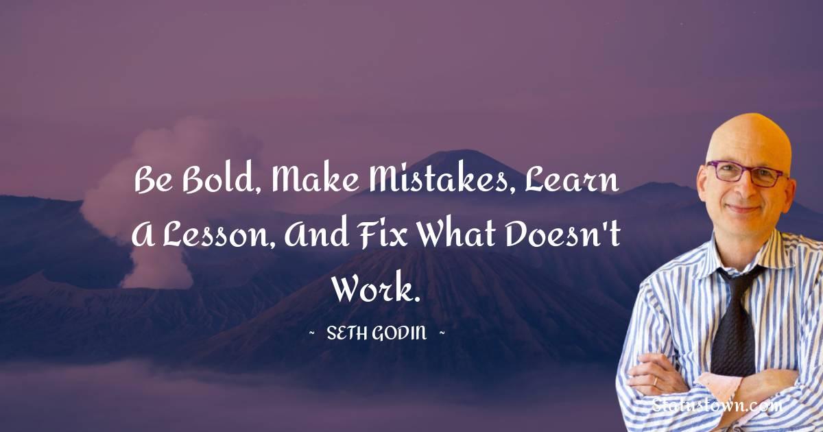 Seth Godin Status