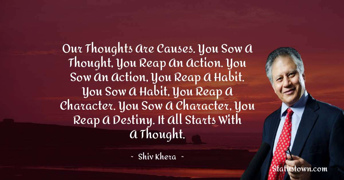 Shiv Khera Quotes for Success