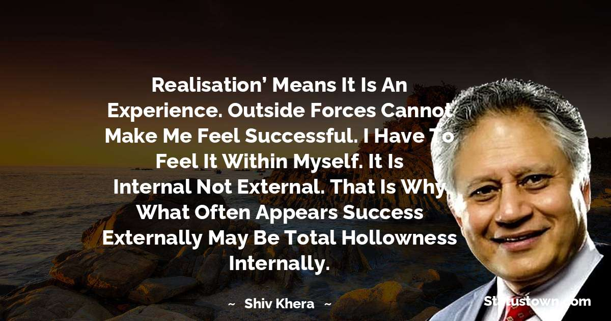 Shiv Khera Encouragement Quotes