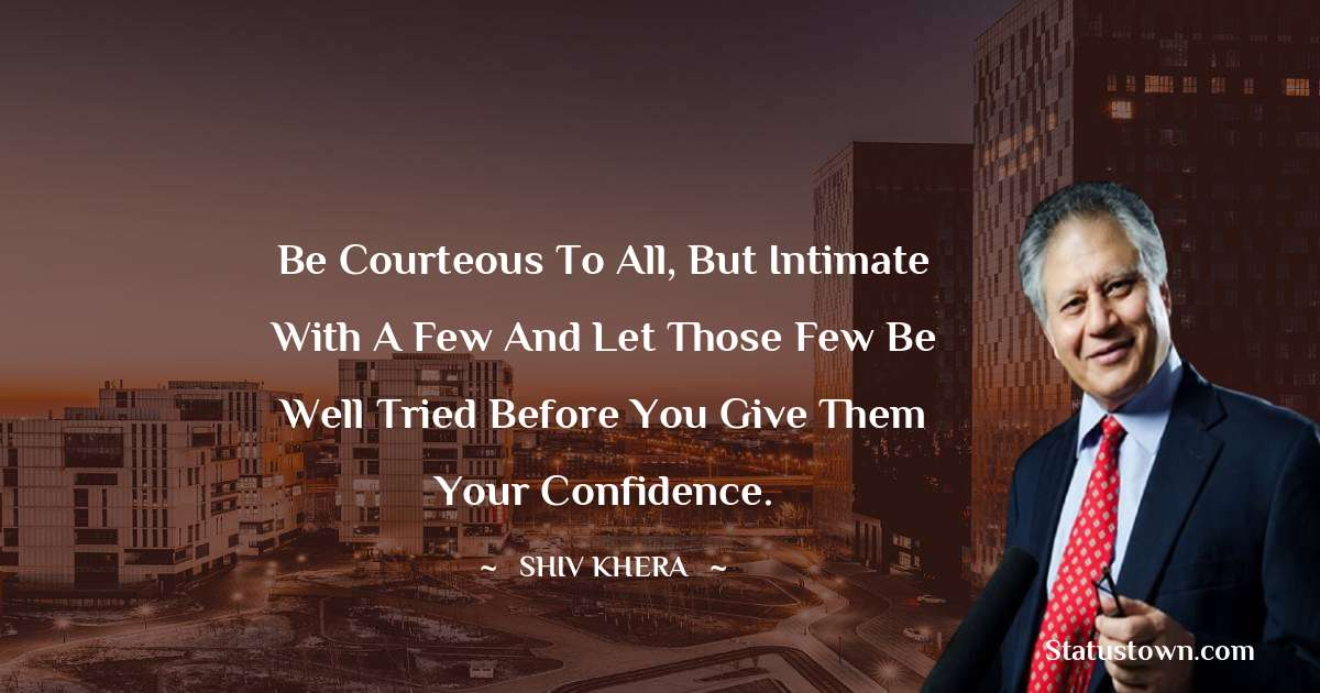 Shiv Khera Quotes on Hard Work