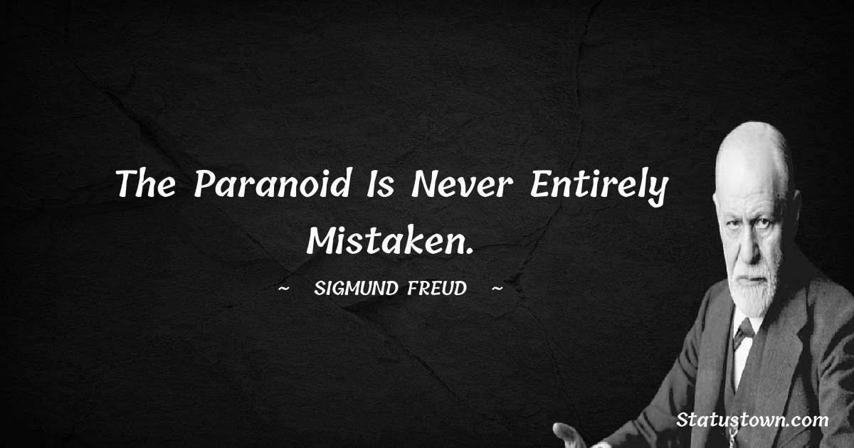 Sigmund Freud  Short Quotes