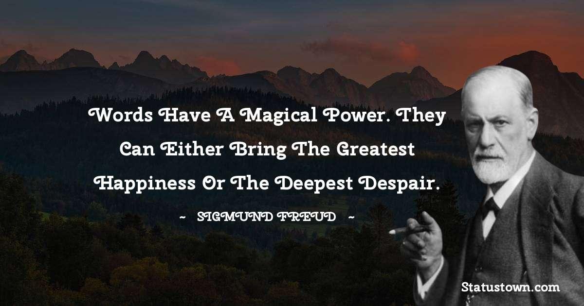 Sigmund Freud  Motivational Quotes