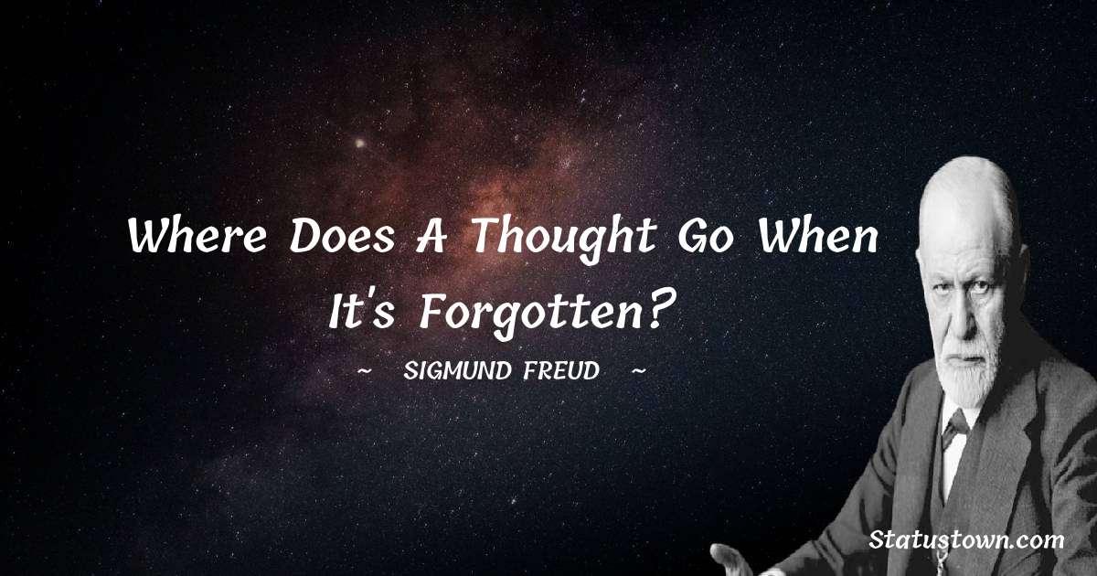 Sigmund Freud  Inspirational Quotes
