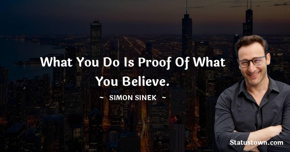 Simon Sinek Status