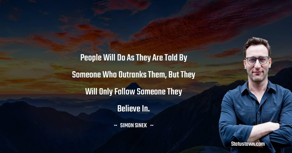 Simon Sinek Short Quotes